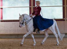 Knabstrupper (Classical type) stallion Lidiador af Spannan