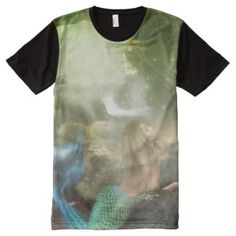 Mermaid Cave All-Over Print T-shirt