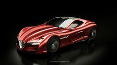 Alfa Romeo Concept - 12C GTS
