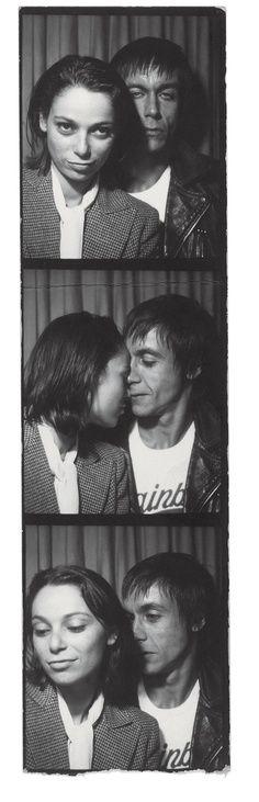 iggy pop and his german girlfriend 1970