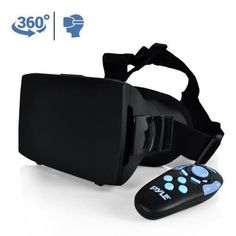 3D VR Headset Glasses, Virtual Reality Entertainment Goggles W290-PLV3D15