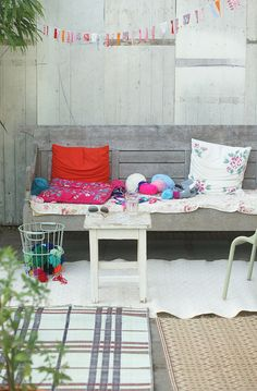 summer celebration by wood & wool stool, via Flickr