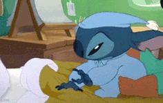 lilo and stitch stitch amore adoro lilo e stitch peluche dormire letto notte tenero