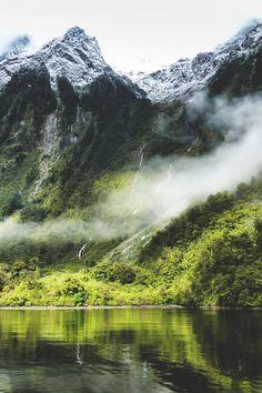 Doubtful Sound, New Zealand | Ron Geffin