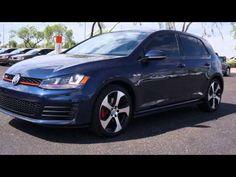 Lunde's Peoria Volkswagen New 2015 Volkswagen Golf GTI SE video Phoenix ... www.peoriavw.com #vw #volkswagen #vdublove