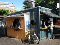 RED FISH BLUE FISH: Victoria, BC fish and chips served on the wharf from a converted shipping container. Lines are usually 40 people deep! | Yelp