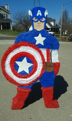 Captain America  the avengers party super by PrettyCreations4fun