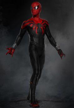 ArtStation - Design Passes for Spider-Man: Homecoming Suit, Ryan Meinerding