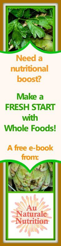 Learn the importance of whole-food nutrition and how it relates to your health and well-being. Replace refined foods with nutrient-rich whole foods.  Plus, learn to adopt healthy eating habits that last a lifetime.  It's great for a new beginning and a healthier YOU!