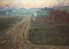 Il Crepuscolo.  1909. Collezione privata.