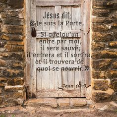 "John 9 ""I am the door, and if any man enters through me, he will be saved, and he will come in and go out, and find pasture. God Loves You, Jesus Loves, My Jesus, Jesus Christ, I Am The Door, Little Prayer, Christian Wallpaper, Bible Truth, Biblical Quotes"