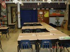 Image result for classroom desk arrangements for fifth grade