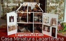 Casa típica Lagarterana en miniatura. #Lagartera #cunadebordados