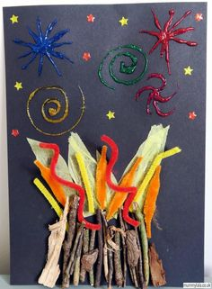 3D Bonfire Night Craft