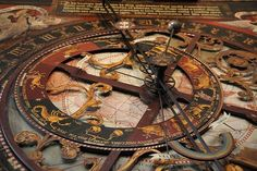 Astronomical Clock of Münster Cathedral in Germany Design Steampunk, Steampunk Couture, Victorian Steampunk, Steampunk Fashion, Victorian Era, Steampunk Gadgets, Horror Themes, Dieselpunk, Concept Art