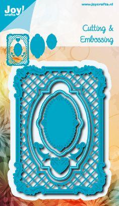 6002/0421 Noor! Design Blauw Rechthoek frame + inhoud