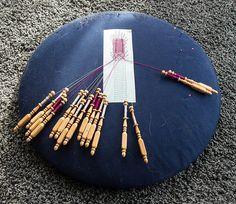 bobbin lace making | am teaching myself how to make bobbin lace!