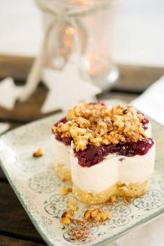 Mascarponetörtchen mit Kirschen und Tonkabohne - Dessert Weihnachtsmenü - Gaumenfreundin - Food & Family Blog