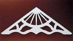 Fypon Gable Pediments, Gable Decorations, Victorian Gable Pediments :: Accent Building Products