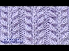 This particular photo is surely an inspiring and incredible idea Knitting Paterns, Knitting Videos, Crochet Videos, Easy Knitting, Knitting Designs, Knitted Baby Blankets, Knitted Hats, Stitch Patterns, Crochet Patterns