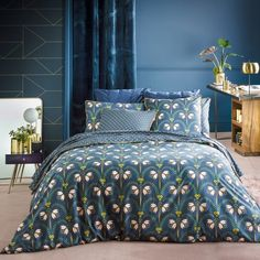 Other Image Belladone Percale Printed Duvet Cover La Redoute Interieurs