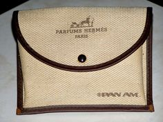 Rare Pan Am 1970's First Class Amenity Bag by by heritagetrade, $45.00