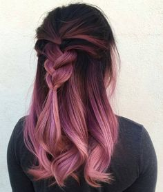 Hair is an important material primarily composed of protein, notably keratin. Hair care is your hair type. Your hair goals. Your favorite hair color Here you find all the possible methods to have perfect hair. Coloured Hair, Dye My Hair, Grunge Hair, Pretty Hairstyles, Pink Hairstyles, Hairstyle Short, Latest Hairstyles, Natural Hairstyles, Messy Hairstyles