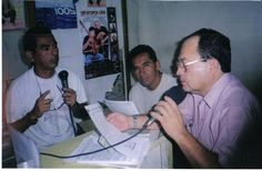 En una entrevista radial con Renán Palacios y Hugo alfaro sobre el consumo de drogas en Ica Perú.