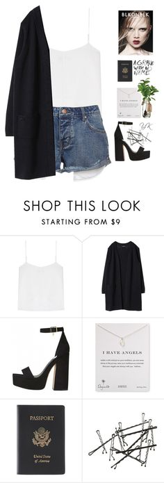 """""""Kiss My Neck"""" by youryulianna ❤ liked on Polyvore featuring T By Alexander Wang, Dogeared, Royce Leather, Chandelier, Kerr® and modern"""