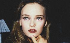 Vanessa Paradis young. 90s