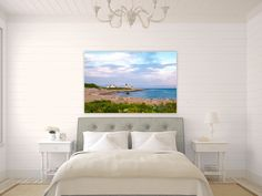 A personal favorite from my Etsy shop https://www.etsy.com/listing/267128845/point-judith-lighthouse-narragansett