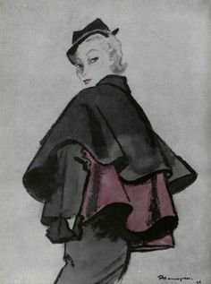 1948 - Christian Dior by Pierre Mourgue. You Can Do It 2. http://www.zazzle.com/posters?rf=238594074174686702