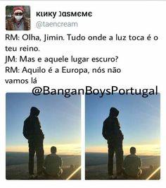 Nossa doeu Ser portuguesa não é fácil ;-;  it hurt  Being Portuguese is not easy.