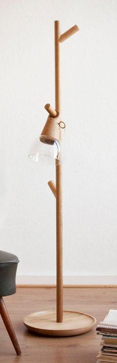 Dynamo lamp by Siren Elise Wilhelmsen.
