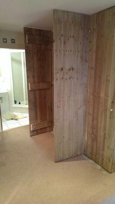 Plank wardrobe, gravel boards,