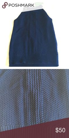 Lilly Pulitzer True Navy Gemma sweater size M NWT Lilly Pulitzer Gemma sweater in True Navy. Gorgeous quality and is not see through. Will be an easy top for brunch, date night, or just running around. NEW WITH TAGS Lilly Pulitzer Tops Tank Tops