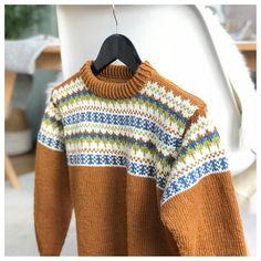 Sjekk DE tøffe fargene til Oskargenser - Knitting Inna Boys Sweaters, Men Sweater, Norwegian Knitting, Nordic Style, Knitting Ideas, Crotchet, Pullover, Instagram Posts, Fashion
