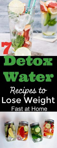 Here find how to make slimming detox water burning belly fat.Detox water recipes to lose weight , for clear skin, debloat and flat belly at home Healthy Detox, Healthy Mind, Healthy Drinks, Healthy Water, Healthy Recipes, Diet Drinks, Detox Juice Recipes, Water Recipes, Juice Cleanse