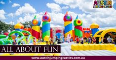 In Sydney we are the best Cheapest Adult and Kids Jumping Castle Hire, Sumo suits, Party and Water slide Sydney-Australia. Kids Fun, Cool Kids, Bouncy Castle, We Are Family, Up Game, Slushies, Water Slides, Party Accessories, Cartoon Kids