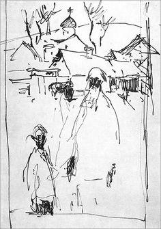 Музей рисунка - Евсей Евсеевич Моисеенко (1916—1988)