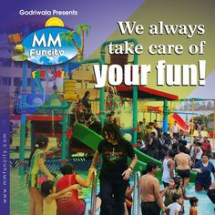 We always take care of your fun!  For More: https://goo.gl/Su9dWZ #MMFunCity #WaterPark #Chhattisgarh #FamilyTime