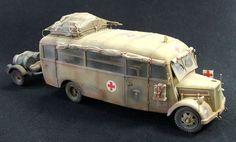 Opel Bus Konrad Molin - DAK ambulance