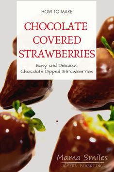 It's surprisingly simple to learn how to make chocolate covered strawberries. Amaze friends with your new talent for making chocolate dipped fruit! Strawberry Filling, Strawberry Fruit, Strawberry Recipes, Making Chocolate, How To Make Chocolate, Homemade Chocolate, Chocolate Pudding Recipes, Delicious Chocolate, Blackberry Syrup