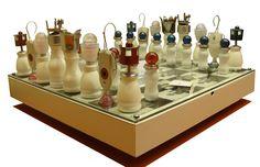 SHAH MAT! - Chessboard with wheels
