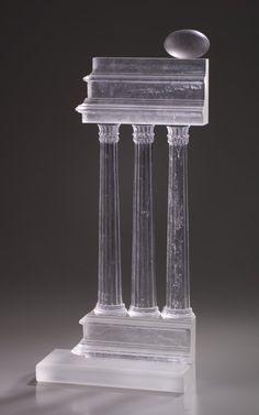 Kiln Cast Glass -Steven Easton