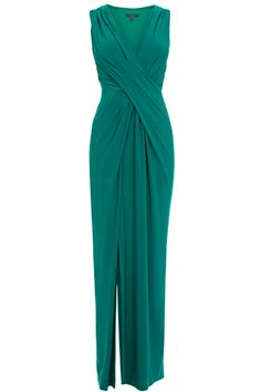 Coast MONA JERSEY MAXI DRESS like style,don't like sleeves or neckline. mainly like loose crossover front!