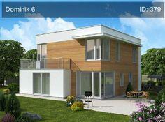 Typový projekt rodinného domu Dominik 6, Patrový dům od společnosti Ekonomické stavby s cenou  realizace 4 050 000 Kč