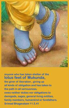 I'm in foot Krishna!