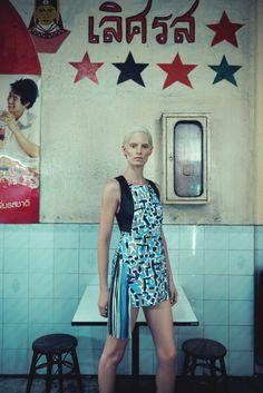 Iris Strubegger by Sofia Sanchez & Mauro Mongiello for Bergdorf Goodman Magazine Spring 2015