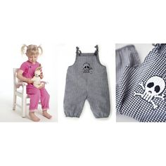 Minikrea 20350 - Overall 6m - 3j Sewing patterns for kids.